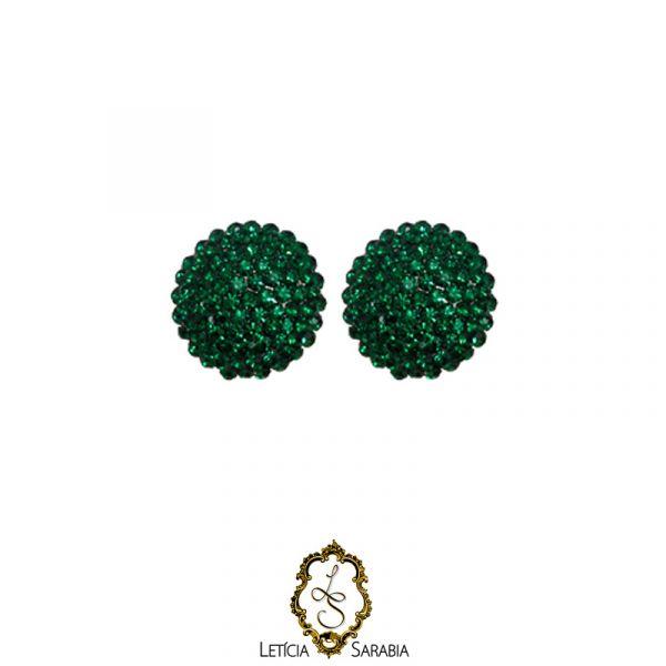 Brinco - Verde Esmeralda B3901