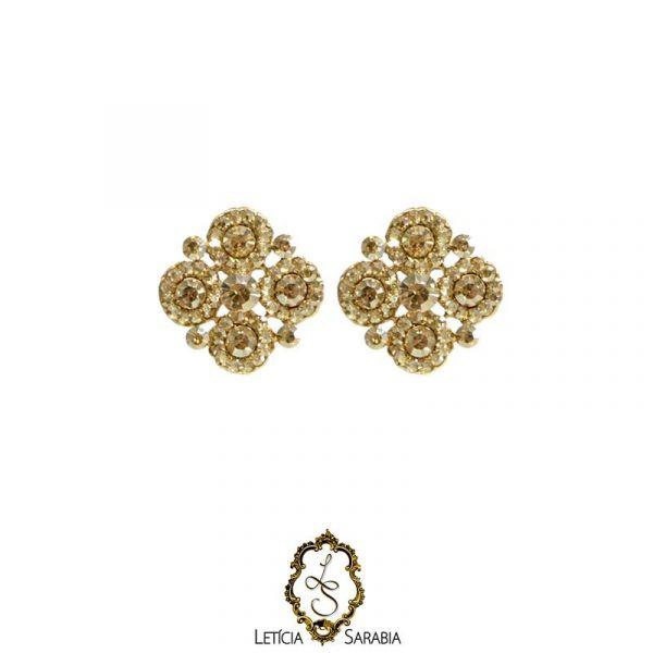 Brinco - Dourado Claro B4515