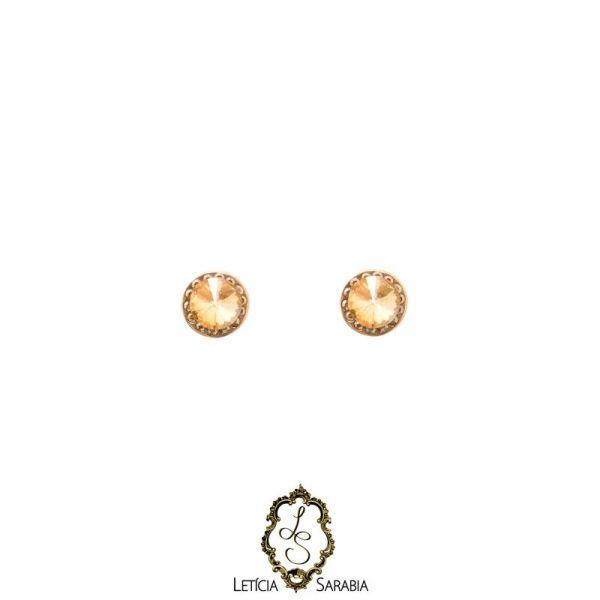 Brinco - Dourado Claro B6707