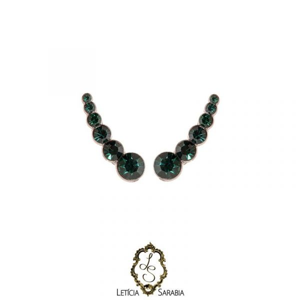 Brinco - Verde Esmeralda B6739