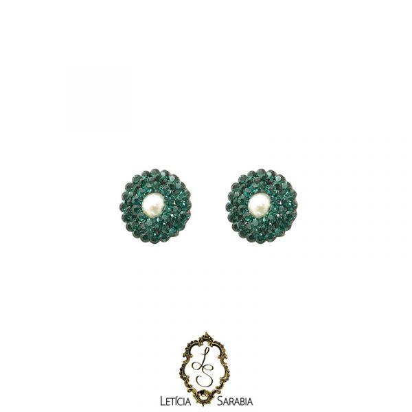 Brinco - Verde Esmeralda B6826