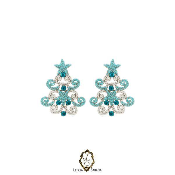 Brinco - Branco, Azul Turquesa e Azul Piscina B6939