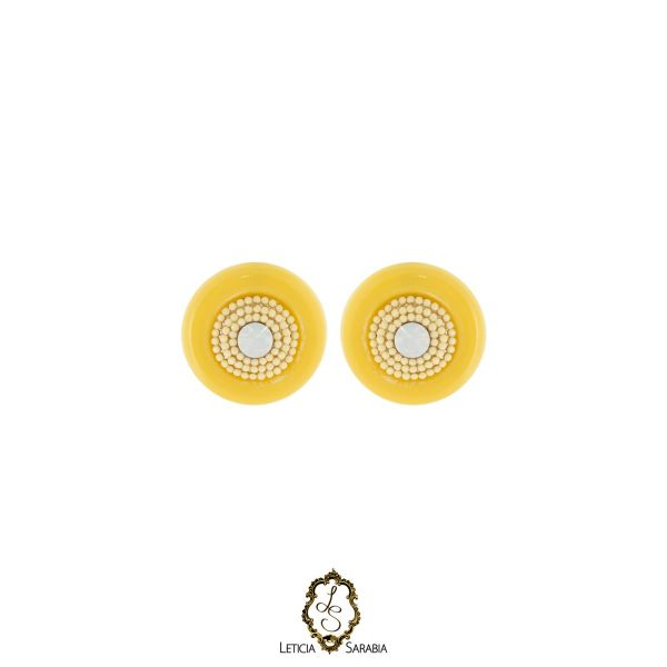 Brinco - Amarelo B6951