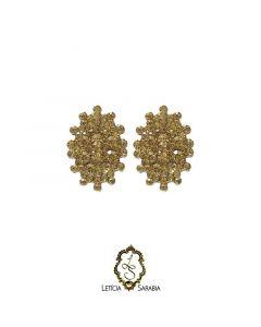 Brinco - Dourado B6623
