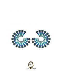 Brinco - Azul Marinho, Azul Royal e Azul Claro B6895