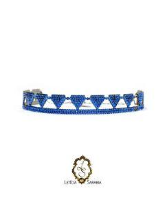 Chocker - Azul Royal CK72